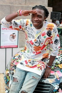 Ron Bass at Essence Street Style Festival