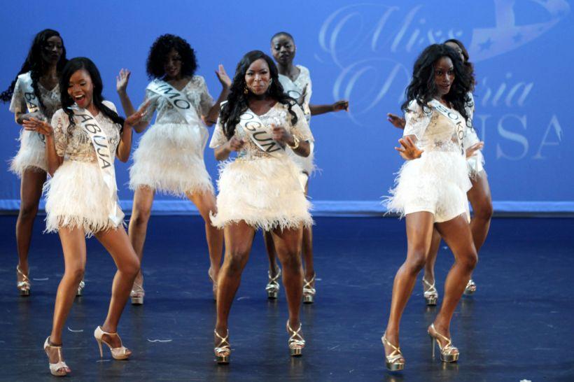 Miss Nigeria USA 2015 opening scene