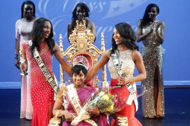 Miss Nigeria USA 2015 finalists